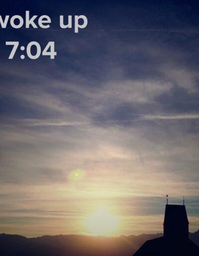 sunrise 6 - I woke up at - NFT Raphael Dudler