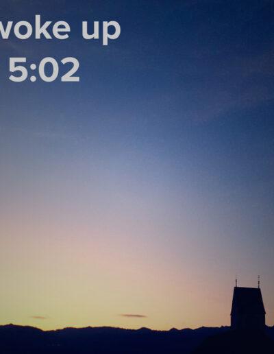 sunrise 60 - I woke up at - NFT Raphael Dudler
