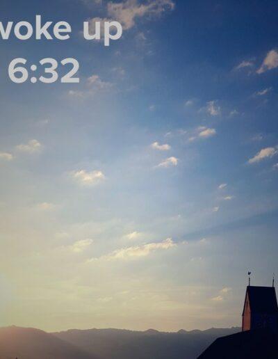 sunrise 61 - I woke up at - NFT Raphael Dudler
