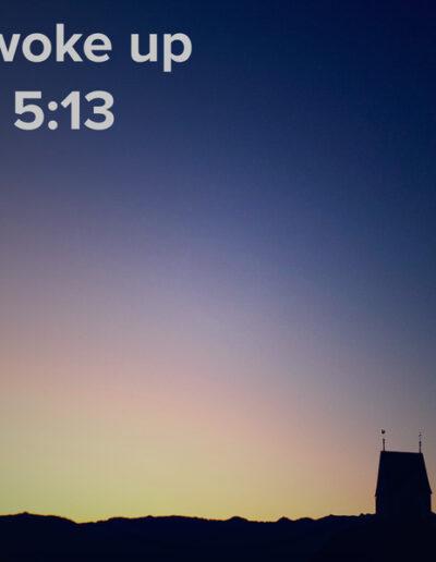 sunrise 64 - I woke up at - NFT Raphael Dudler