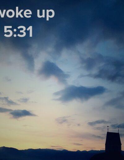 sunrise 66 - I woke up at - NFT Raphael Dudler