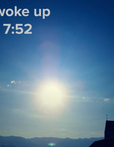 sunrise 69 - I woke up at - NFT Raphael Dudler