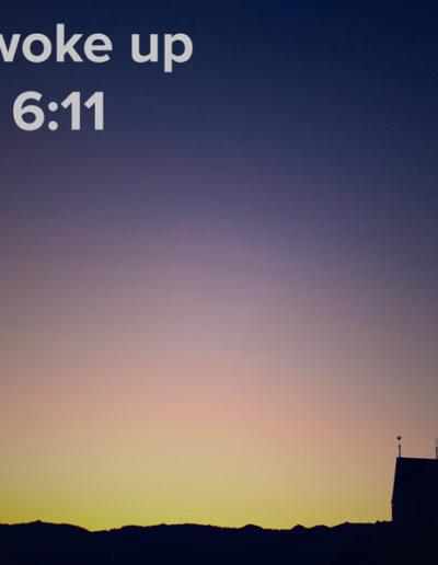 sunrise 7 - I woke up at - NFT Raphael Dudler