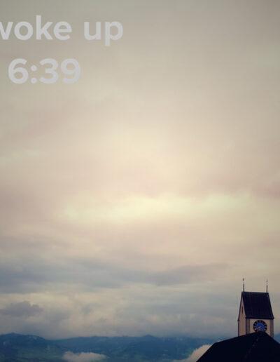 sunrise 70 - I woke up at - NFT Raphael Dudler