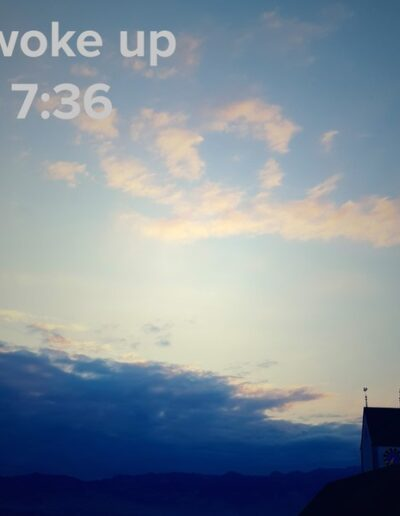 sunrise 75 - I woke up at - NFT Raphael Dudler