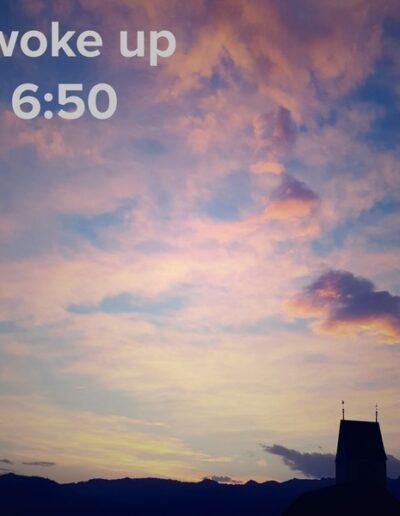 sunrise 8 - I woke up at - NFT Raphael Dudler