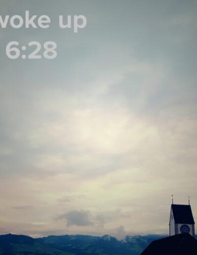sunrise 81 - I woke up at - NFT Raphael Dudler