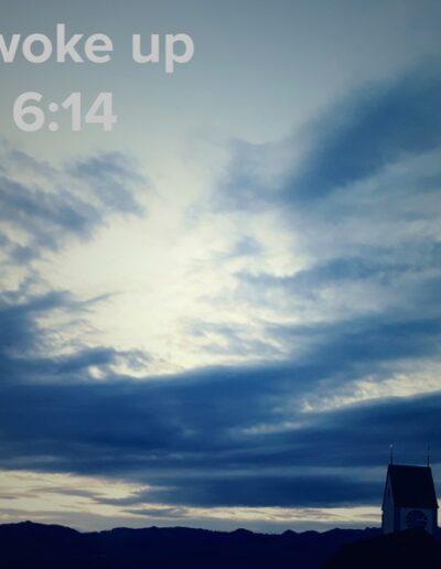 sunrise 82 - I woke up at - NFT Raphael Dudler