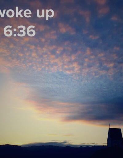 sunrise 83 - I woke up at - NFT Raphael Dudler