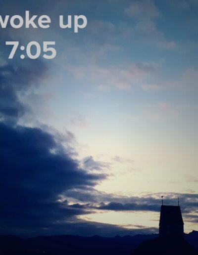 sunrise 9 - I woke up at - NFT Raphael Dudler
