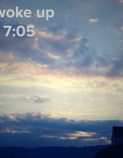 sunrise 94 - I woke up at - NFT Raphael Dudler