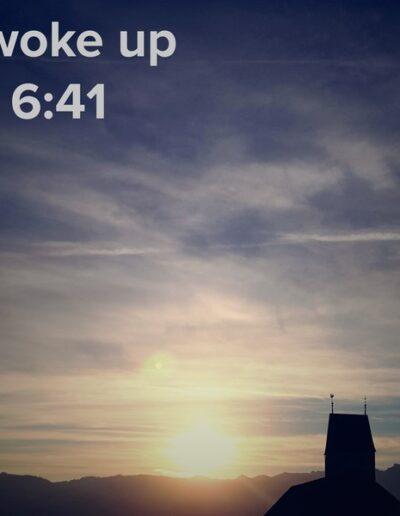 sunrise 96 - I woke up at - NFT Raphael Dudler