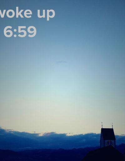 sunrise 97 - I woke up at - NFT Raphael Dudler