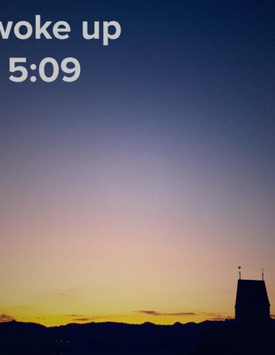 sunrise 98 - I woke up at - NFT Raphael Dudler