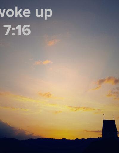 sunrise 99 - I woke up at - NFT Raphael Dudler